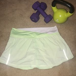 🍋Lulu Athletic Skirt